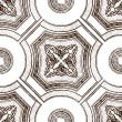 Royalty-Free Stock Vektorfiler: Vector ceiling tile seamless vintage