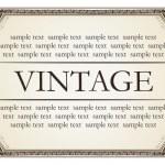 mármore quadro vintage — Vetor de Stock  #2475013