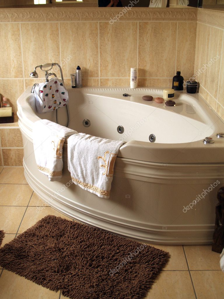 Bathroom interior          Stock Photo #1151479