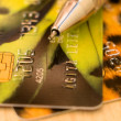 Royalty-Free Stock Photo: Creditcards