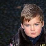 Boy portrait outdoor — Stock Photo #1312585