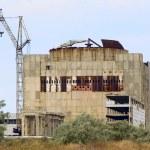 Abandoned Atomic Power Station (Kazantip — Stock Photo