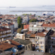 Panoramic view of Istanbul — Стоковое фото