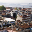 Panoramic view of Istanbul roofs — Stock Photo