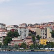 Multicolored houses of Istanbul — Stock Photo