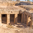 Tombs of the king (ancient ruines) — Photo