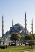 Blue mosque (sultanahmet) — Stock Photo