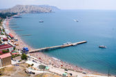 Panoramic view of the bay — Стоковое фото