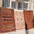 Stock Photo: Turkish carpet bazaar in Istanbul