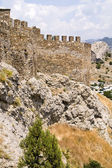 Genoa castle in Sudak, Crimea — Stock Photo