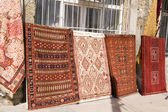 Turkish carpet bazaar in Istanbul — Stock Photo