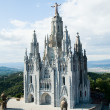 Sagrat Cor, Tibidabo - Stock Photo