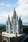Sagrat Cor, Tibidabo — Stock Photo