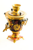 Traditional russian samovar — Stock Photo