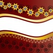 Floral banner - 
