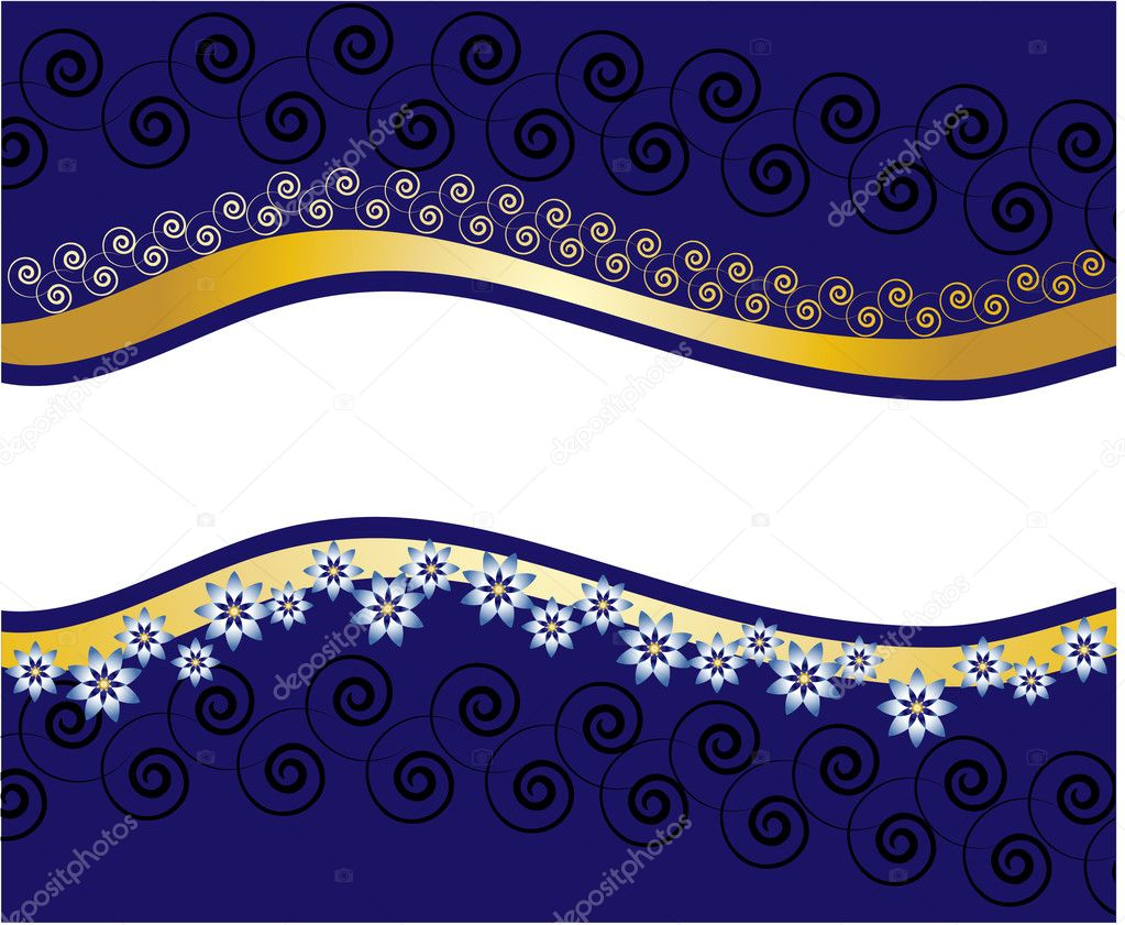 Floral banner  Stock Vector #1140785