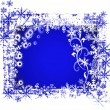 Stock Vector: Frosty background