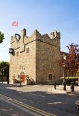 Irish medieval castle — Stock Photo