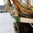 Irish historic tall ship — Photo