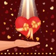 Royalty-Free Stock Imagen vectorial: Giving you my love