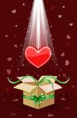 I'm giving you my heart — Vector de stock