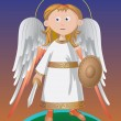Guardian Angel — Stock Vector