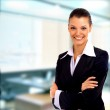 Positive business woman — ストック写真 #1144038