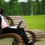 Businessman working — Stock Photo #1147542