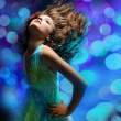Beautiful dancing girl — Stock Photo #1148900