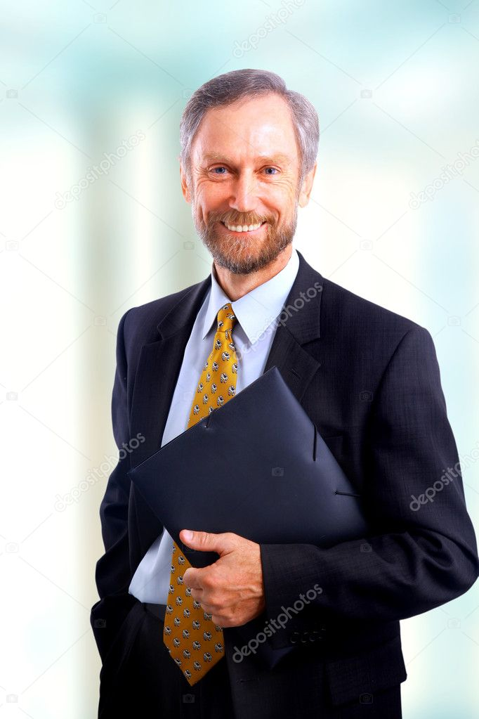 Businessman isolated  — Stock Photo #1148532