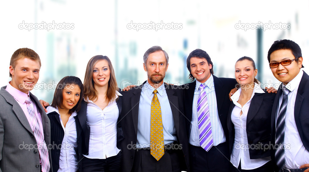 Business team  — Stock Photo #1148650