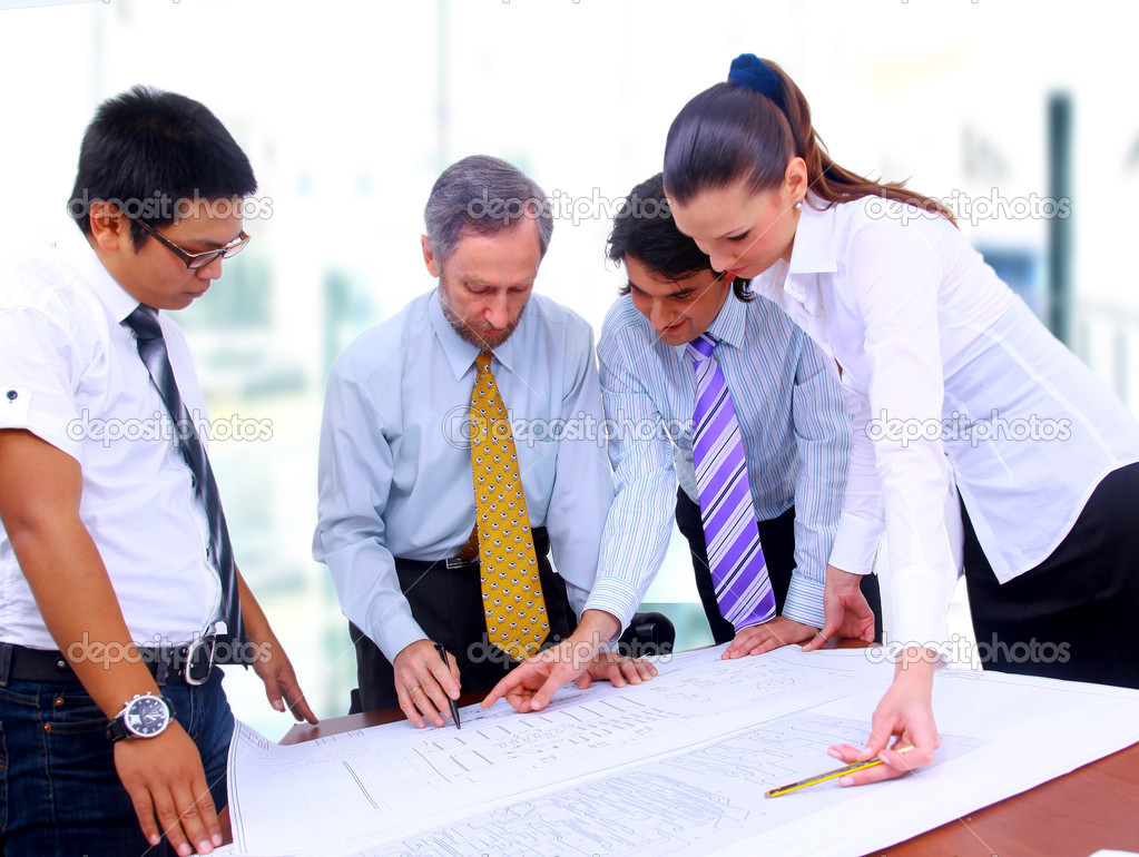 Business team  — Stock Photo #1148670