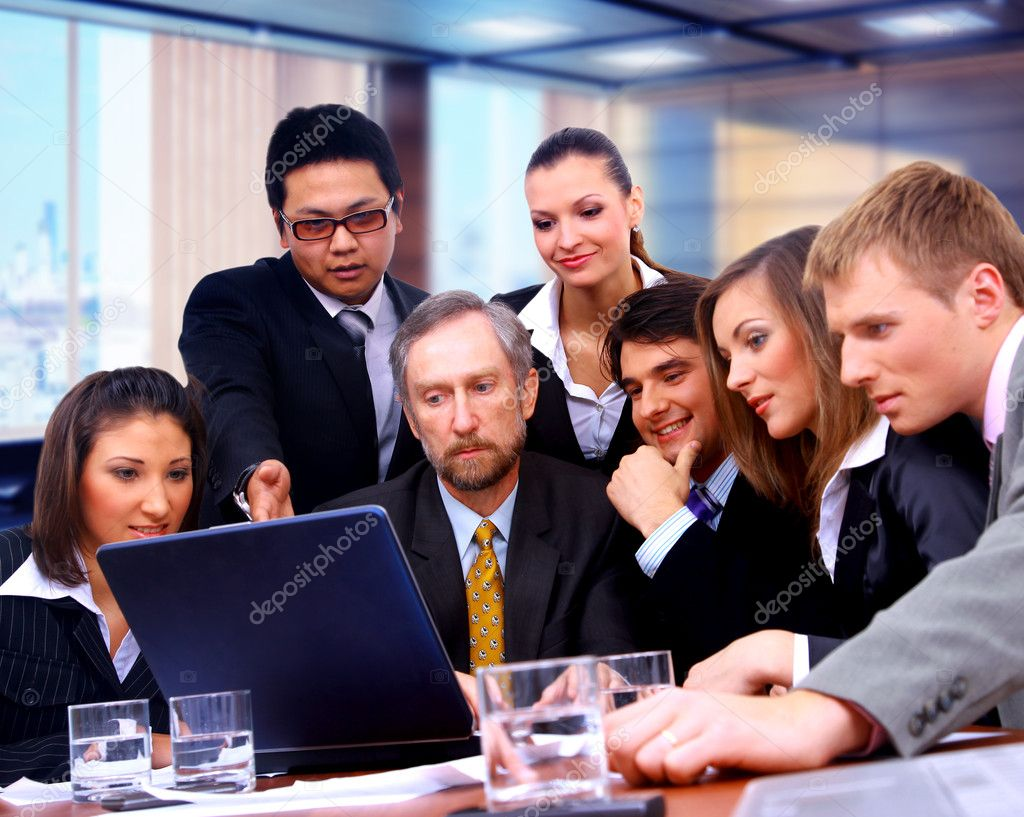 Business team  — Foto de Stock   #1148779