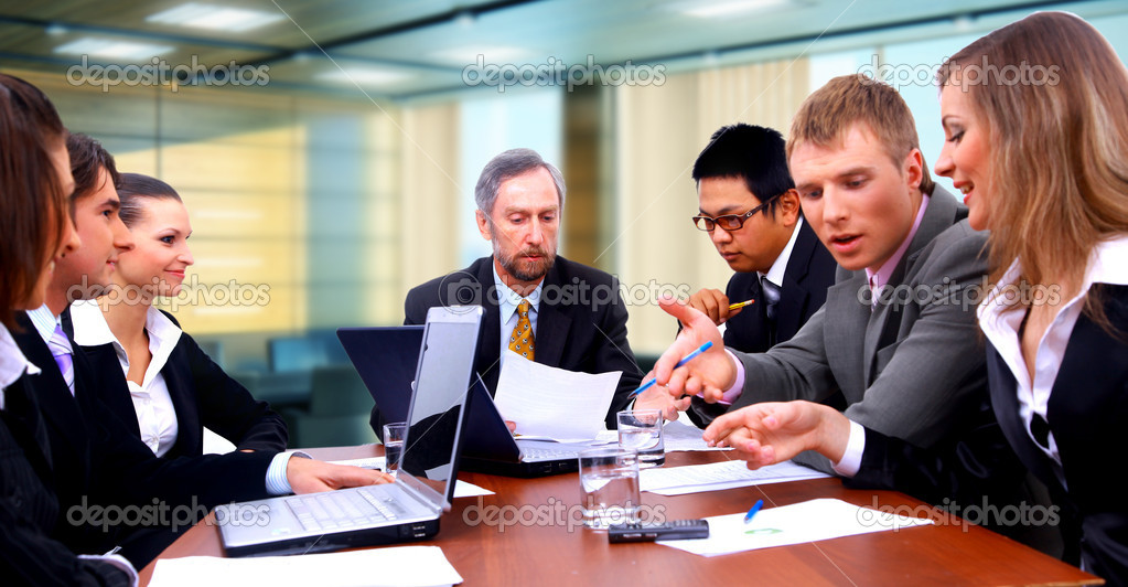 Business team  — Foto de Stock   #1148824