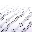 Music sheets - Stockfoto