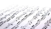 Music sheets — Stock Photo