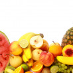 Ripe fresh fruit — Stock Photo