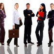 Business man and women — Stock Photo