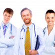 Smiling medical doctor - Stock Photo
