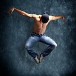 Modern dancer poses — Stock Photo #2531312