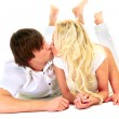 Beautiful couple of lovers. — Stock Photo #2532407