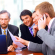 Businessteam in offece — Stock Photo #2535015