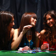 Royalty-Free Stock Photo: Young have a good time in casino