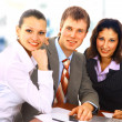 Stock Photo: Businessteam in offece
