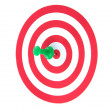 Success target - Stock Photo