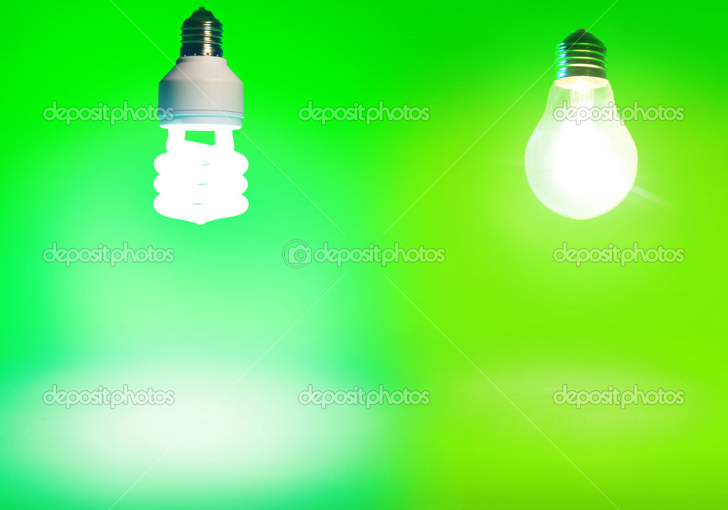 Bright lightbulbs — Stock Photo #2530382