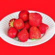 Royalty-Free Stock Photo: Strawberry in a plate