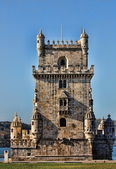 Tower of Belem in Portugal — Stock Photo