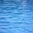 Blue water texture — Stock Photo