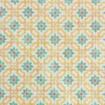 Portuguese azulejos, old tiled backgroun — Stock Photo